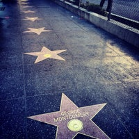 Photo taken at Hollywood Walk of Fame by Lamees on 11/30/2013