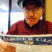 Photo taken at Corner Cafe by Carlos V. on 1/31/2014
