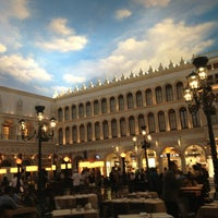 Photo taken at Canaletto Ristorante Veneto Las Vegas by Rob J. on 5/25/2013
