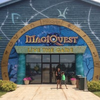 Photo taken at MagiQuest at Great Wolf Lodge by Rick D. on 7/10/2015