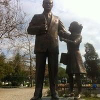 Photo taken at bostanli sanat parkı Galeri by 🌹Sun! on 2/25/2014
