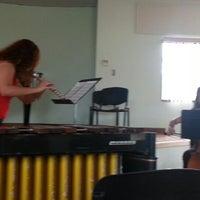 Photo taken at UNA - Escuela de Música by Luissana P. on 10/5/2012