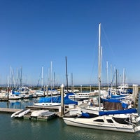 Photo taken at Coyote Point Yacht Club by Hank Hsin-hung S. on 7/3/2017