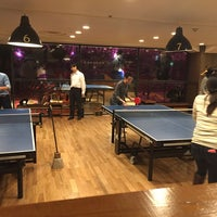 Photo taken at Shibuya Ping Pong Club by Kaz O. on 11/28/2014