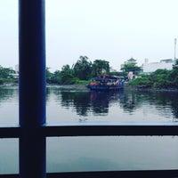Photo taken at Phà An Phú Đông by Tri B. on 9/5/2015