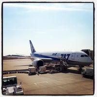 Photo taken at Okayama Airport (OKJ) by erish on 10/26/2012