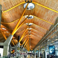 Photo taken at Adolfo Suárez Madrid-Barajas Airport (MAD) by Oriol on 7/18/2013
