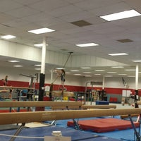 Photo taken at West Houston Gymnastics Club by Geoff C. on 11/4/2013