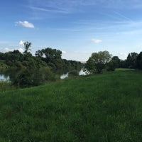 Photo taken at Moselufer by Ganna Y. on 6/25/2015
