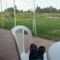 Photo taken at club la barranca by Sandra M. on 10/23/2014