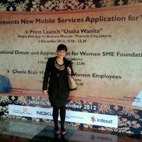 Photo taken at Galeri Indosat by Sendy M. on 12/6/2012