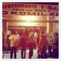 Photo taken at O Komilão Restaurante e Bar Noturno by O Komilão R. on 12/1/2013