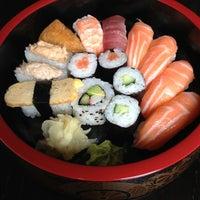 Photo taken at Sushi Bar Rice Garden by Jenni K. on 5/13/2013