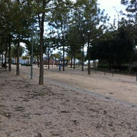 Photo taken at Parque María Zambrano by Lucia G. on 3/27/2013