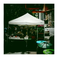 Photo taken at City Hall Greenmarket by Hassan C. on 6/6/2014