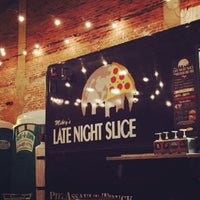 Photo taken at Late Night Slice by Justine O. on 5/5/2015