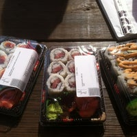Photo taken at Sushi-A-Go-Go by Kimberly M. on 10/4/2012