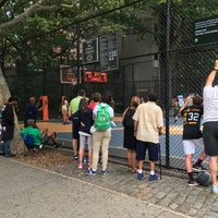 Photo taken at West 4th Street Courts (The Cage) by Sarah on 7/3/2016