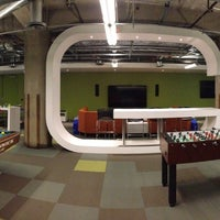 Photo taken at Groupon Game Room by Austin G. on 12/4/2014
