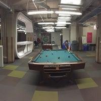 Photo taken at Groupon Game Room by Austin G. on 9/3/2015