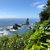 Photo taken at Shi Shi Beach by Kaitlin T. on 7/4/2018