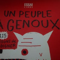 Photo taken at Librairie Monet by Veronique R. on 5/16/2014