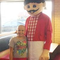 Photo taken at Pizza Inn by dan on 11/5/2013