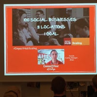 Photo taken at ImpactHub Stockholm by Jonas A. on 9/16/2015