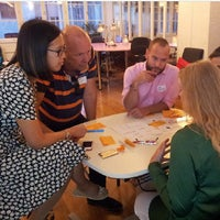 Photo taken at ImpactHub Stockholm by Jonas A. on 9/16/2014