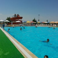 Photo taken at Aqua City  Malatya ( Aquapark) by Cemil Ş. on 8/4/2016
