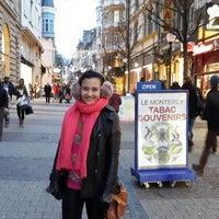Photo taken at Le Place D'Armes Café by BJ P. on 12/23/2013