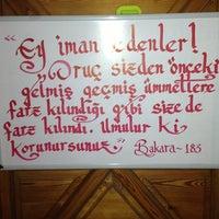 Photo taken at Beşirli cami by Onur H. on 7/6/2014