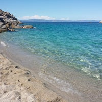 Photo taken at Armenistis Beach by Irena A. on 7/12/2014