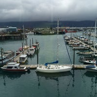 Photo taken at Holiday Inn Express Seward Harbor - Closed by Chris S. on 8/24/2014