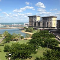 Photo taken at Adina Apartment Hotel Darwin Waterfront by Annie N. on 5/14/2014