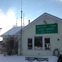 Photo taken at Morrisville-Stowe State Airport (MVL) by Nicole B. on 2/8/2014