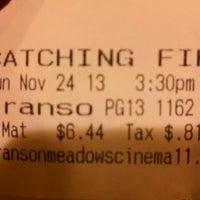 Foto tirada no(a) Branson Meadow Cinema por Kirsten H. em 11/24/2013