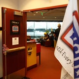 Photo taken at USO by Denver International Airport Locations on 11/5/2013