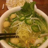 Photo taken at Pho & Cafe Anh Hong by Clare H. on 4/26/2014