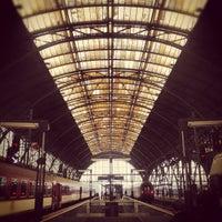 Photo taken at Prague Main Railway Station by Lukas H. on 10/21/2012