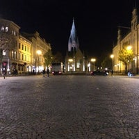 Photo taken at Stortorget by Kristian F. on 11/3/2016