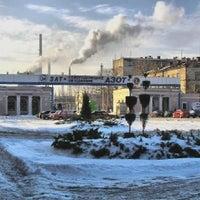 "Photo taken at Первая проходная ""Азота"" by Sever D. on 11/21/2013"