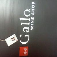 Photo taken at Gallo Wine Store by Biz M. on 9/21/2012
