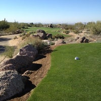 Photo taken at Troon North Golf Club by Kevin N. on 12/8/2012