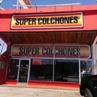 Photo taken at Super Colchones by Marlon C. on 5/31/2014