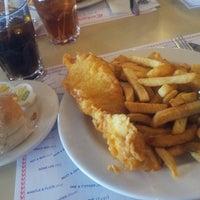 Photo taken at Cockney Kings Fish & Chips Ltd by Ganon G. on 12/11/2013