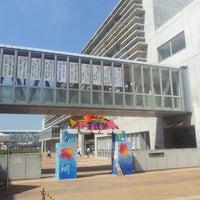 Photo taken at Yokohama Science Frontier High School by Ganon G. on 9/21/2013