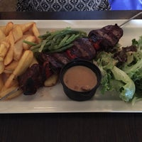 Photo taken at L'Émile Brochettes by Adam S. on 6/2/2015