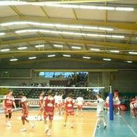 Photo taken at Volley Asse Lennik by Matthias V. on 4/18/2012