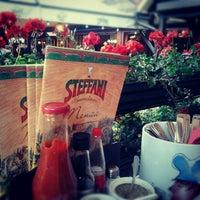 Photo taken at Steffani Pizzarestoran by riinua on 7/3/2012